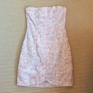 B.B. Dakota strapless dress
